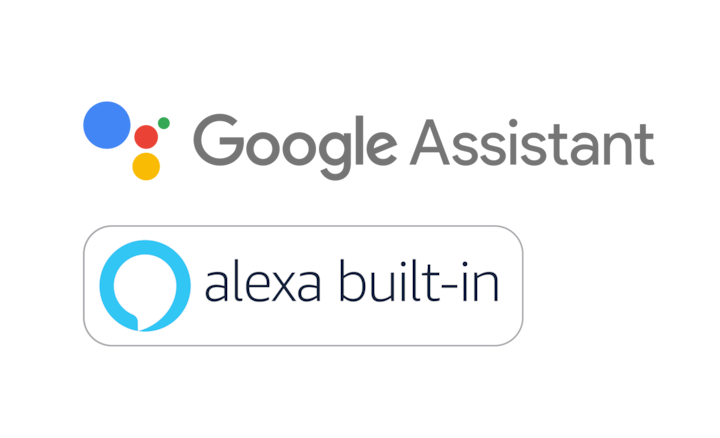 Google Assistant 和 Alexa built-in 標誌