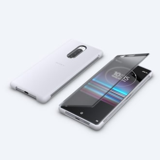 Picture of Xperia 1 Style Cover Touch SCTI30 | Your world through the cover
