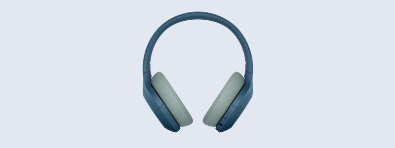 Front-facing view of WH-H910N headphones