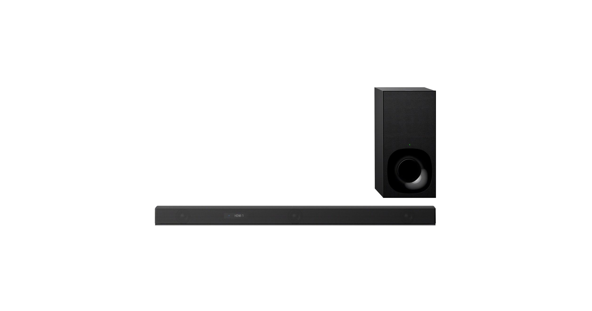 bluetooth® Technology Ht-z9f Sony x™ 3 Dolby Wi-fi Dts Atmos® Soundbar 1ch With