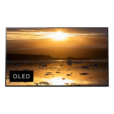 支援 Acoustic Surface 技術的 A1 4K HDR OLED 電視 的相片