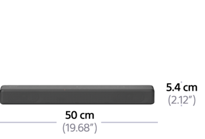 Picture of 2.1ch Compact Soundbar with Bluetooth® technology