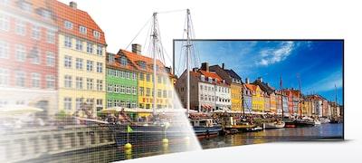 W66E 一按即可存取 YouTube 的全高清 HDR 電視 的相片