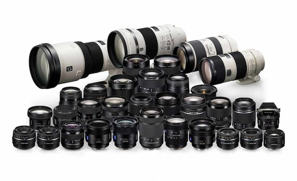 Lenses for Sony's best full-frame DSLR-like cameras
