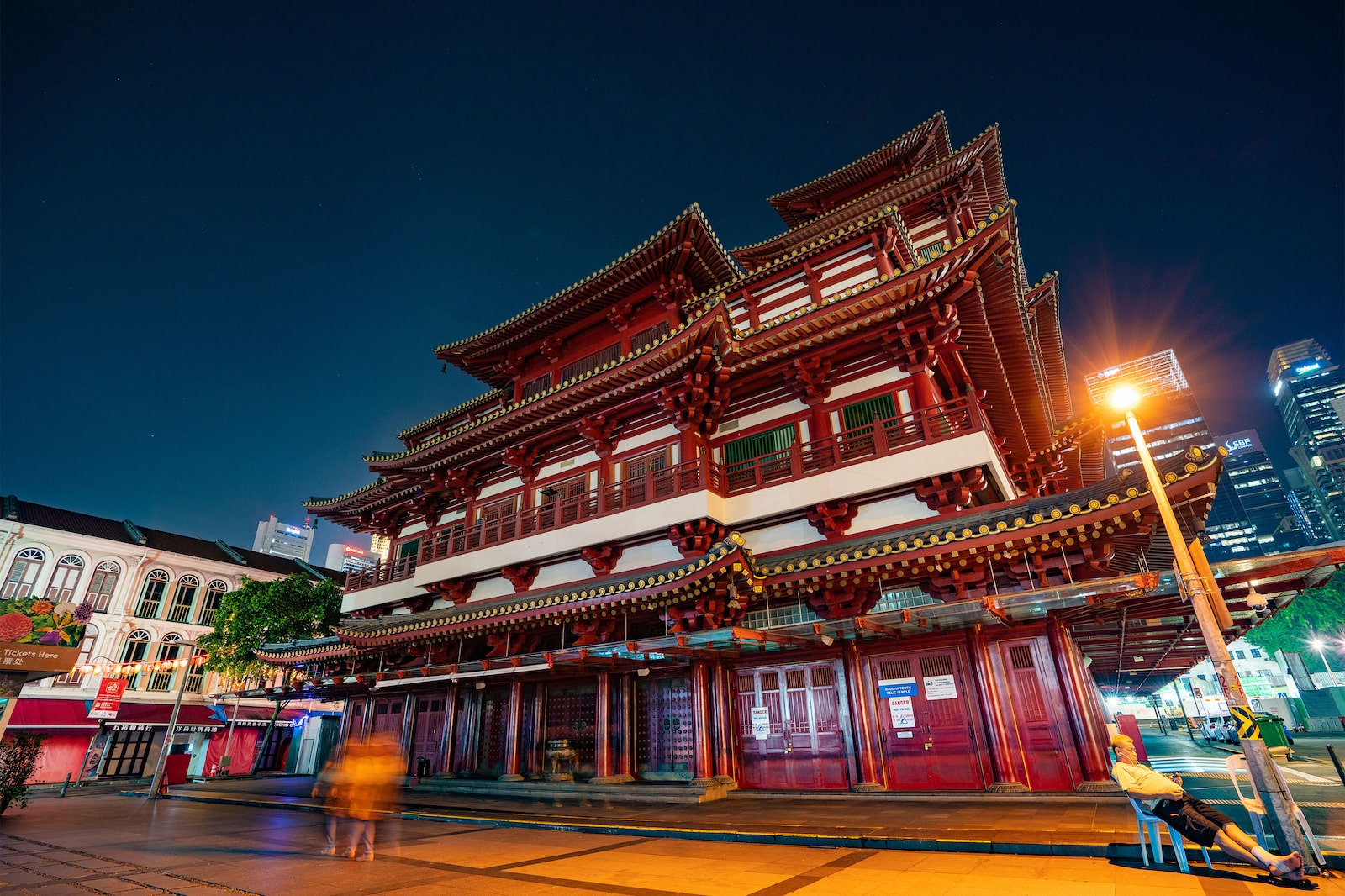 Buddha Relic Tooth temple in Singapore