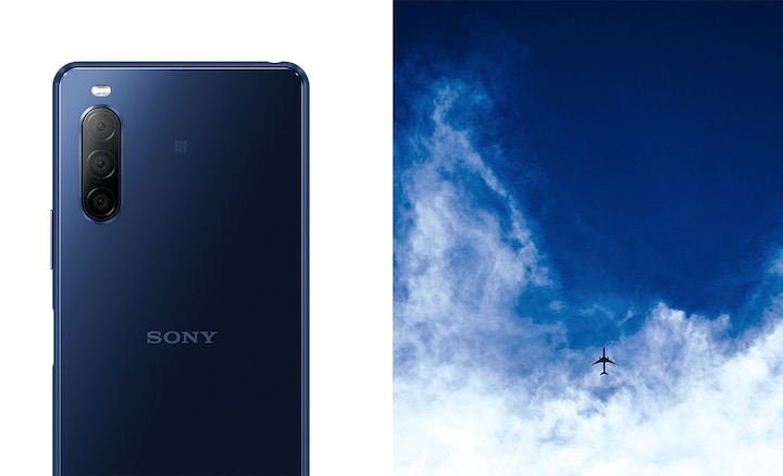 Xperia 10 II in blue
