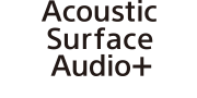 Acoustic Surface Audio+ 標誌
