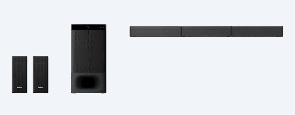 Images of 5.1ch Home Cinema Soundbar System with Bluetooth® technology | HT-S500RF