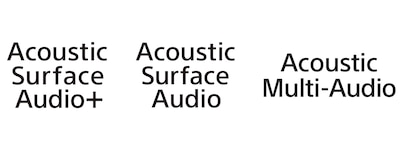 Acoustic Surface Audio 標誌