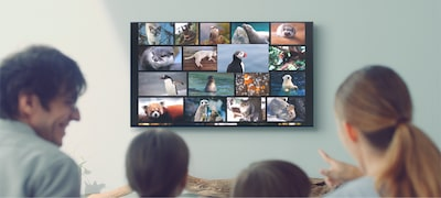 X85F| LED | 4K Ultra HD | High Dynamic Range (HDR) | Photo of Smart TV (Android TV)