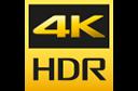 4K HR 標誌