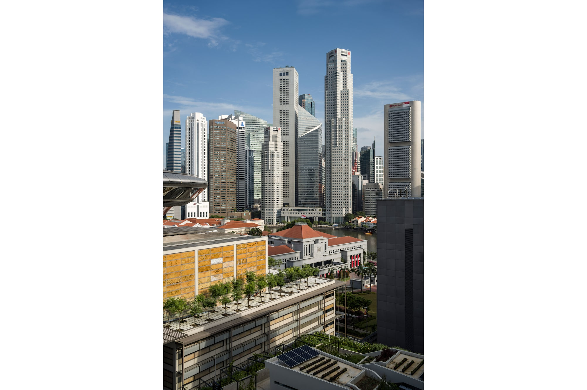 Sony 61-megapixel full frame Alpha 7R IV maximises superb resolution of view of Central Business District (CBD).
